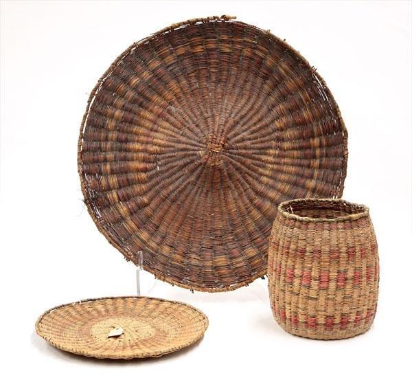 2003: Native American Hopi Baskets