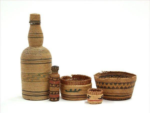 2004: Native American Nootka / Macah baskets