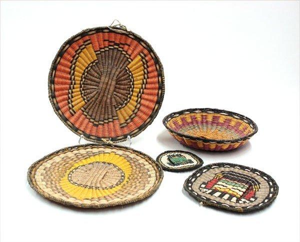 2006: Native American Hopi wicker basketry