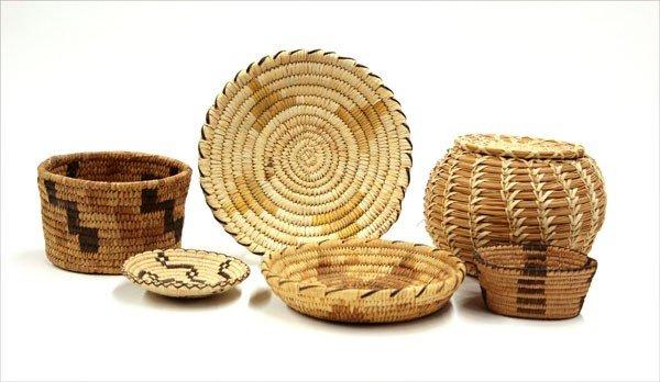 2007: Southwest Native American baskets