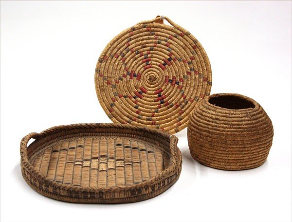 2008: Native American basketry items