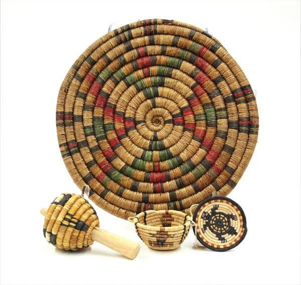 2009: Native American Hopi basketry