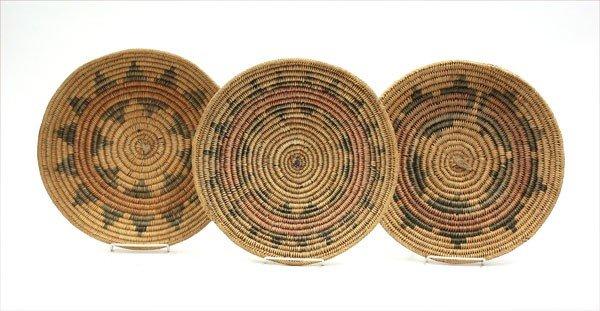 2010: Native American Navajo basketry