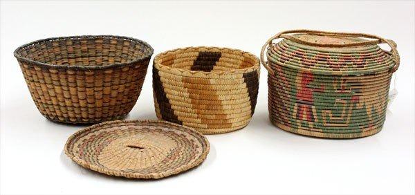 2018: Native American basketry