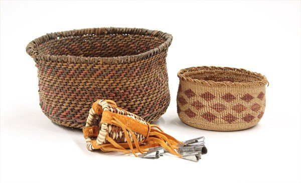 2021: Native American Basketry items