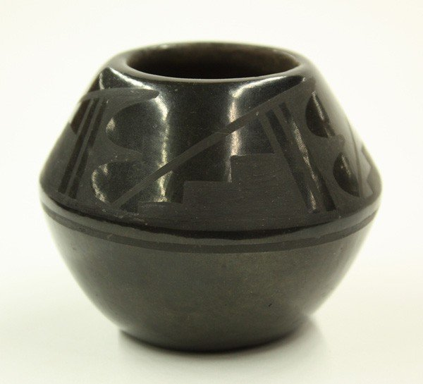 2023: San Idelfonso blackware bowl