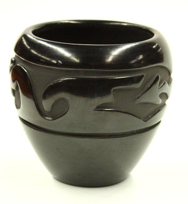 2024: Santa Clara pueblo blackware bowl