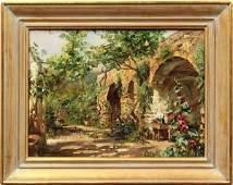 2233: Painting, Carlo Perindani, Arcade Chickens