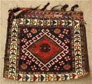 2396: Persian Ghashghaei bag faces
