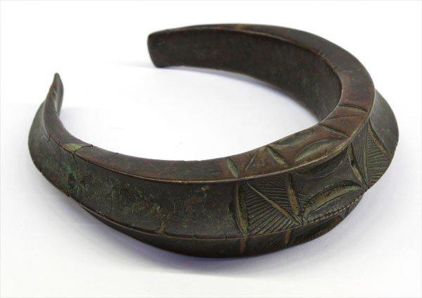 3: African Bronze 'Currency Bracelet'