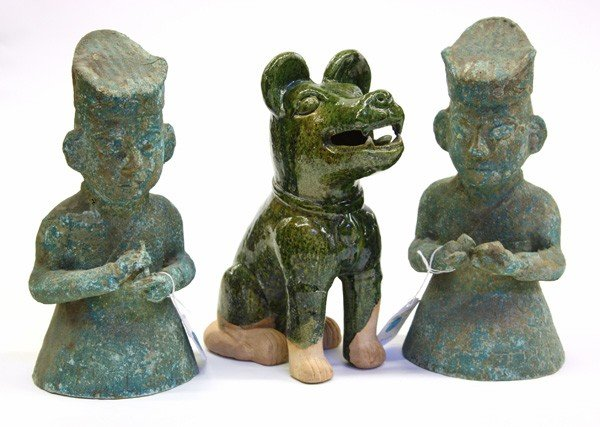 8: Chinese Archaistic Ceramic and Bronze Figures