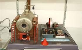 246: Wilesco model steam engine power plant