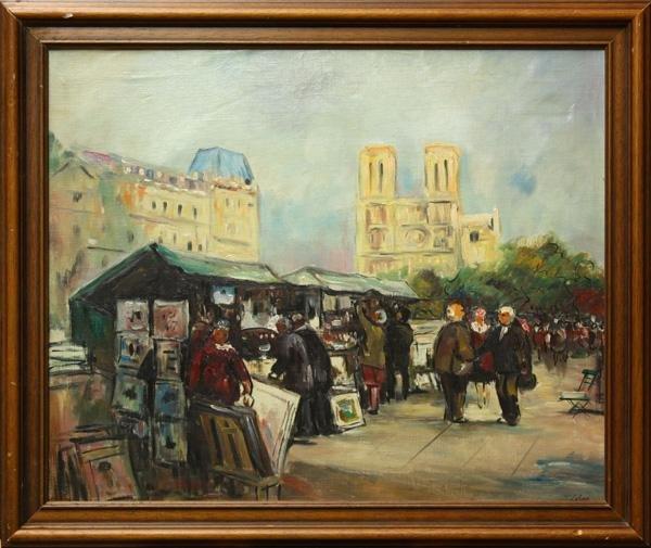335: painting, Jean Lehar, Paris
