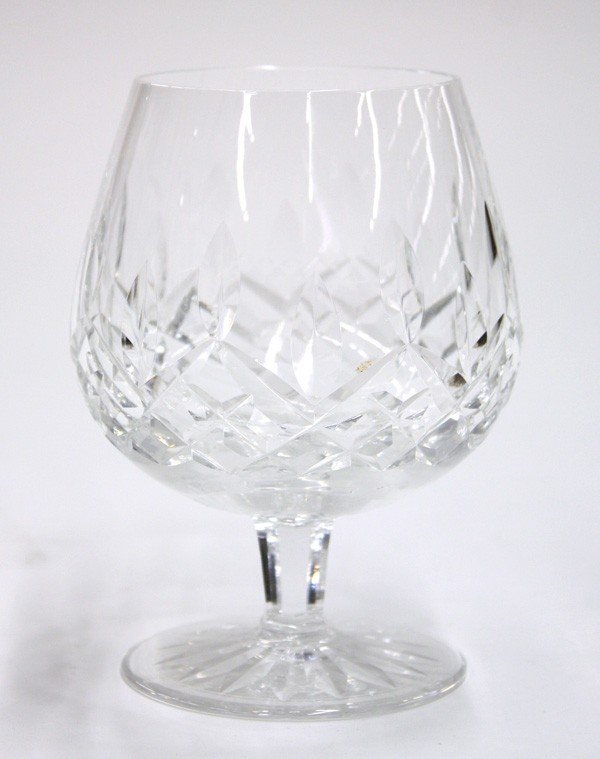 6014: Waterford Lismore, crystal brandy glasses - 2