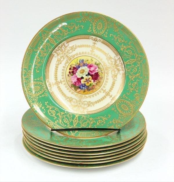 6114: Royal worcester service plates