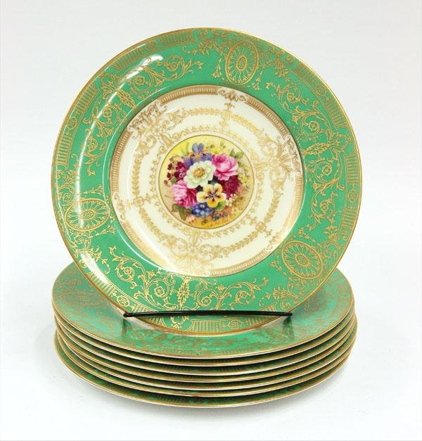 6114: Royal worcester service plates