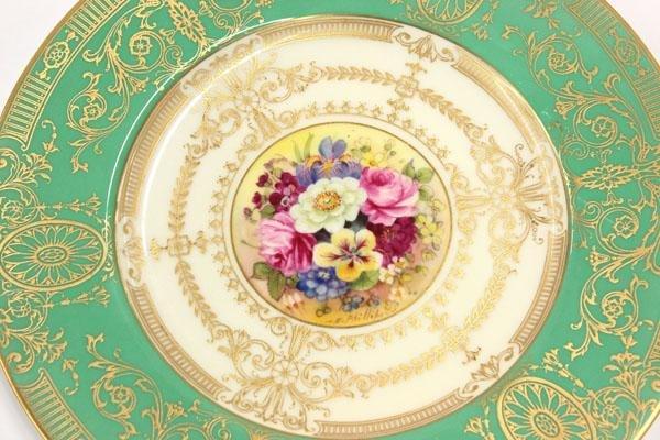 6114: Royal worcester service plates - 2