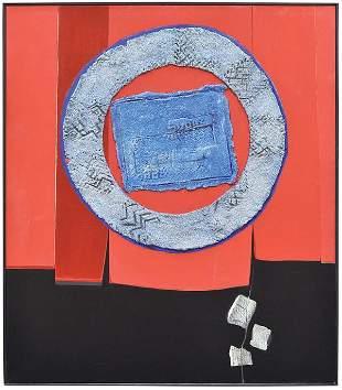 6200: Oil/mixed media, Enrico Donati, Curtain Call VII