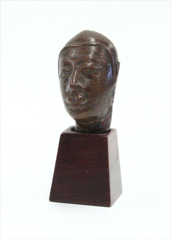 4000: Burmese Bronze Figural Fragment, 18th/19th