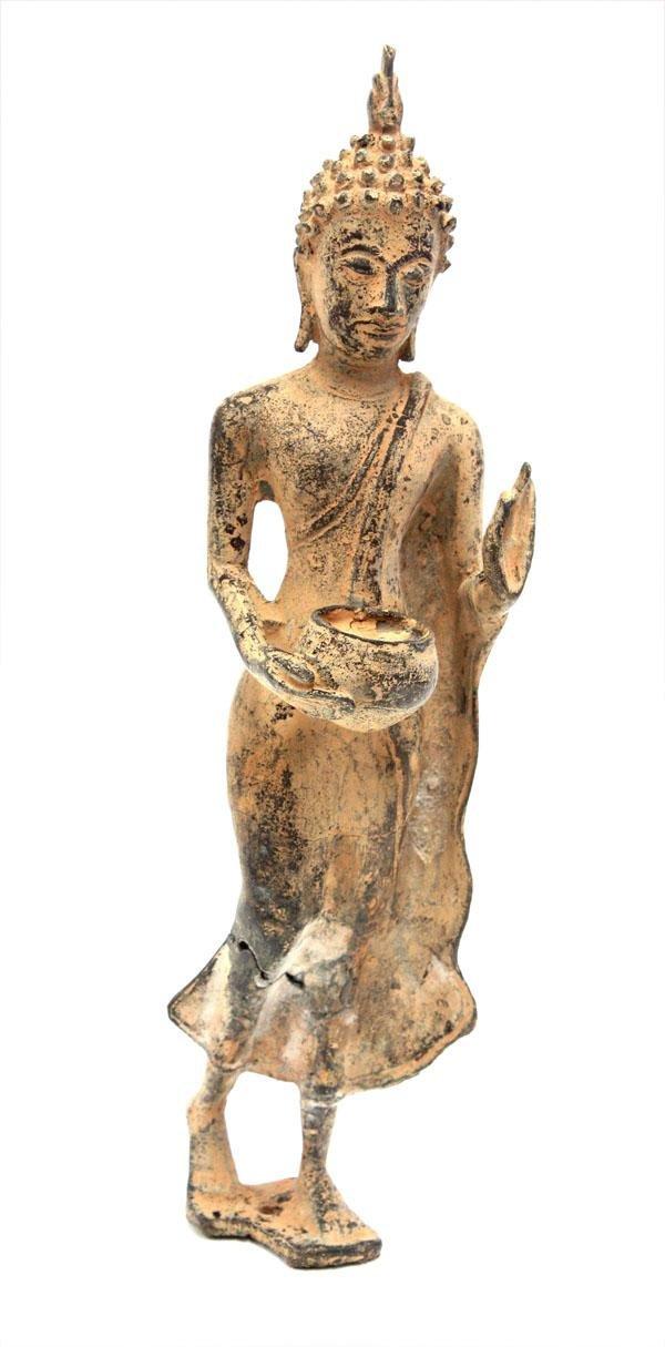 4001: Thai Bronze Buddha Figure