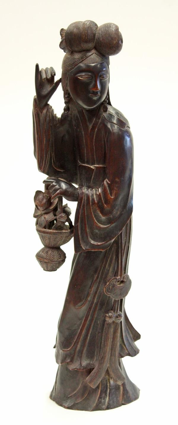 4004: Chinese Wood Figural Carving, Magu