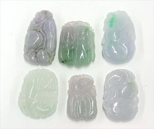4009: Chinese Jade Toggles/Pendants