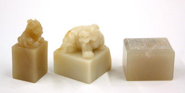 4012: Chinese Soapstone Seals