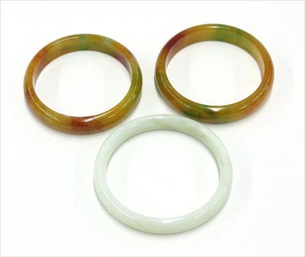 4017: Chinese Jade Bangle Bracelets
