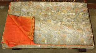 4088 Japanese Brocade Silk Kesa 19th