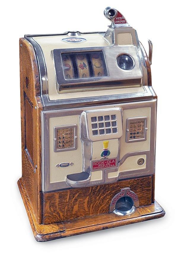 4267: O.D Jennings nickel slot machine