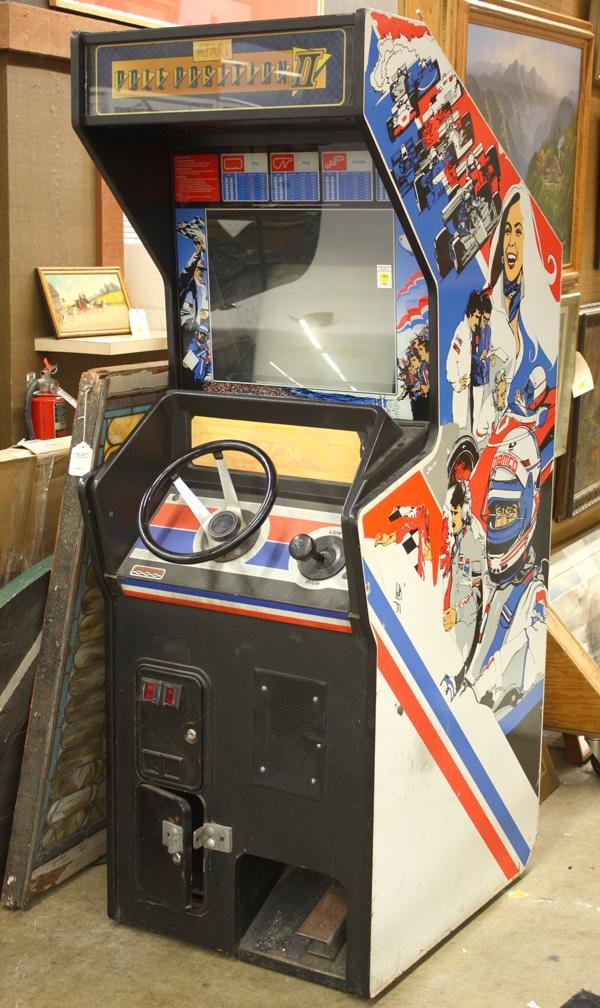 4270: Atari Pole Position arcade video game