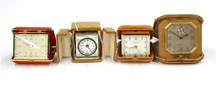 Miniature cased Swiss clock