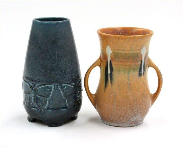 2000: American Art Pottery vases