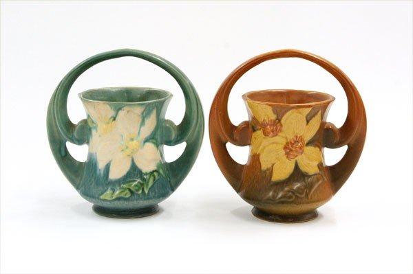 2002: Roseville Art Pottery