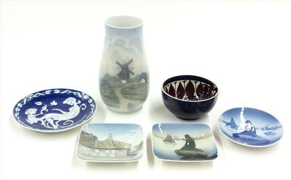2007: Royal Copenhagen porcelain
