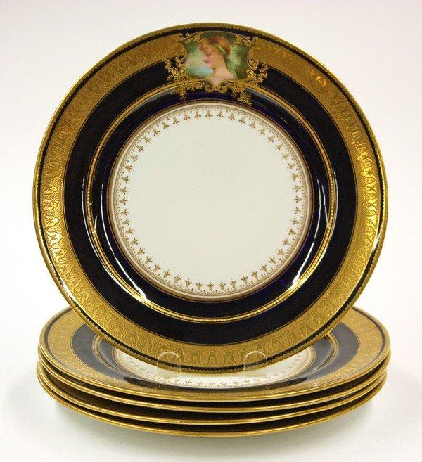 2012: Royal Doulton service plates