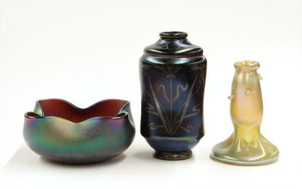 2017: Iridescent art glass
