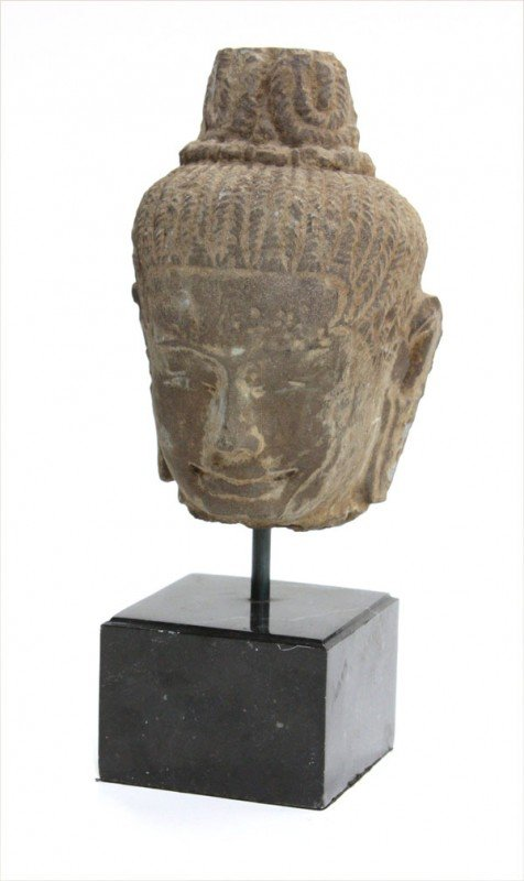 4: Khmer Stone Head, Baphuon