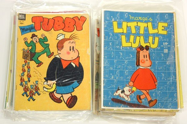 195: Little Lulu comic books