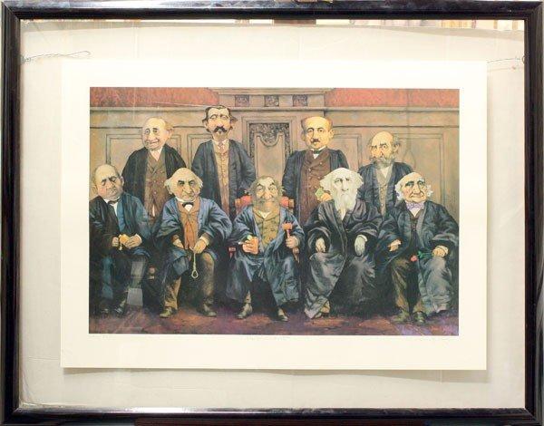 432: Lithograph, Charles Bragg, High Court - 2