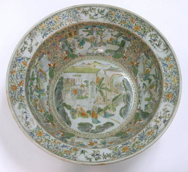 2019: Chinese Enamel Decorated Bowl
