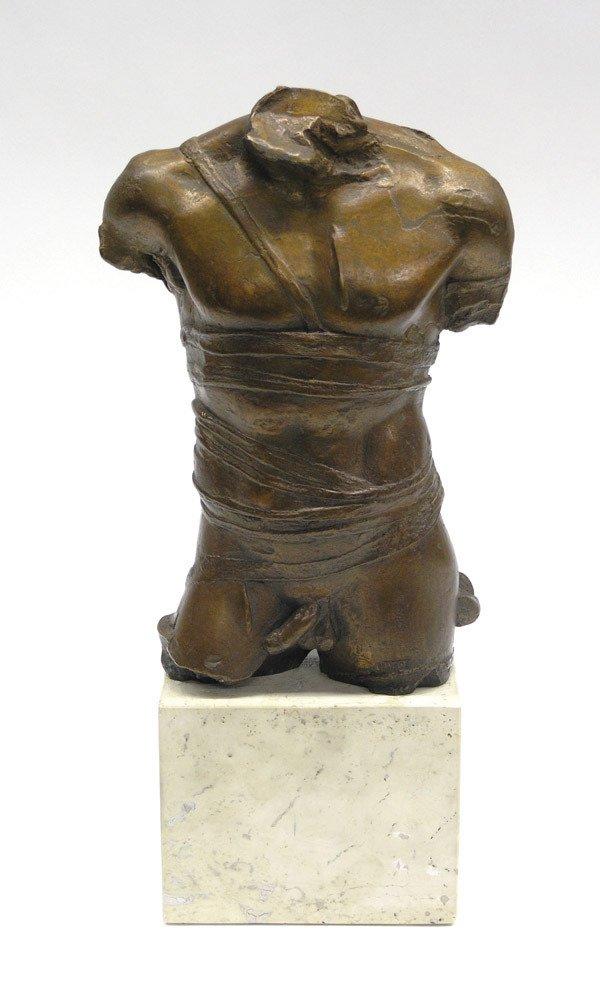 2427: Bronze torso, Igor Mitoraj