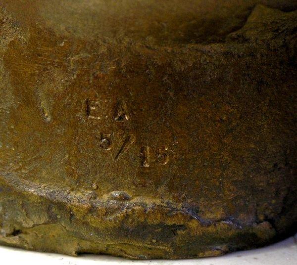 2427: Bronze torso, Igor Mitoraj - 5