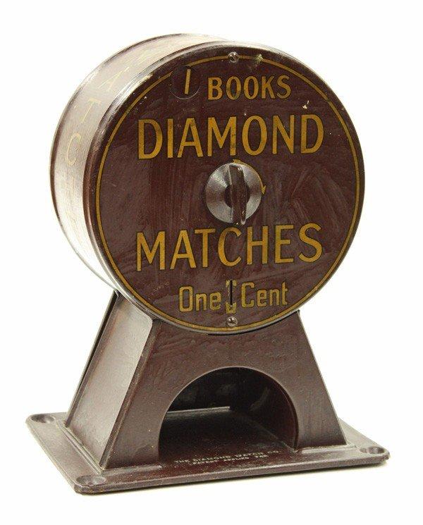 6012: Diamond Matches one cent dispenser
