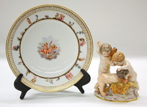 6021: Meissen Figural Group