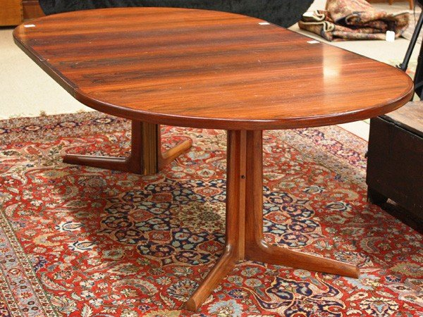 6179: Niels O. Moller Danish rosewood dining table