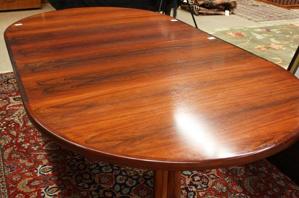 6179: Niels O. Moller Danish rosewood dining table - 2