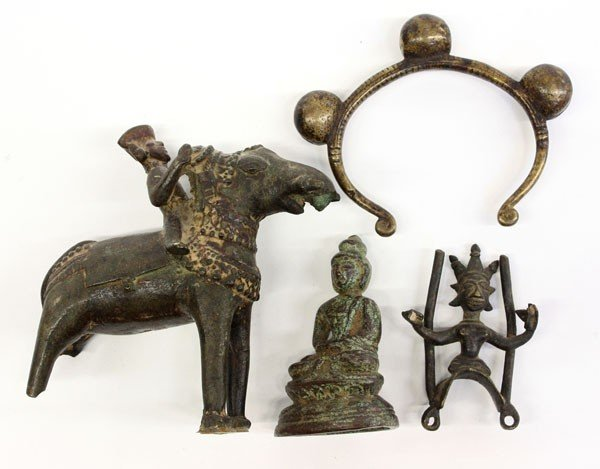4001: East Indian Metal Items, 19th/Earlier