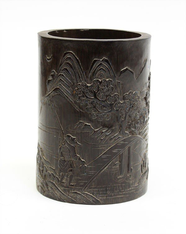 4012: Chinese Bamboo Brush Pot