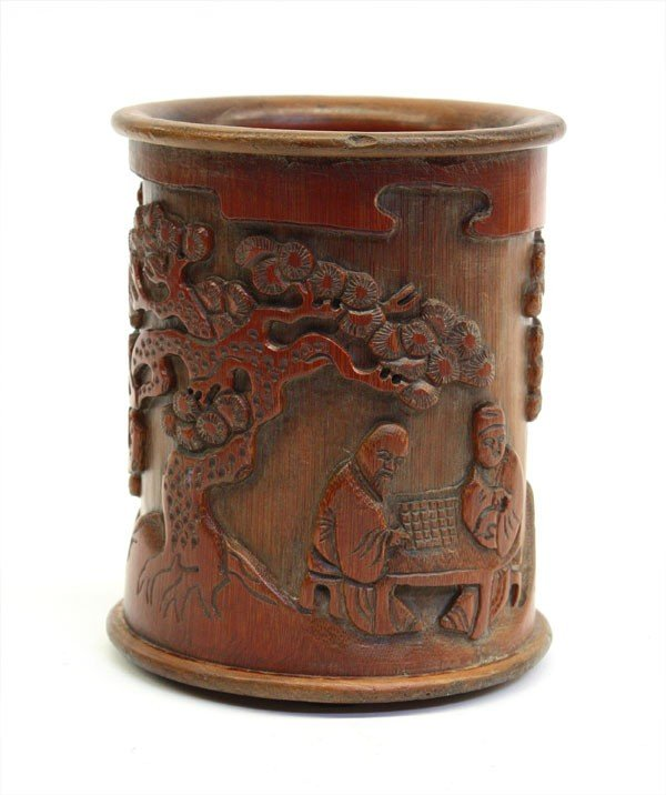 4013: Chinese Bamboo Brush Pot